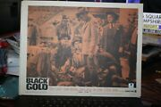 James Best Autograph Lobby Card With Coa Black Gold 1962 Western Movie
