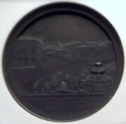 1875 Italy Vatican Christian Pope Pius Ix Opens Hospice Antique Medal Ngc I82377