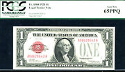 1928 1 Fr 1500 Small Size Us Note - Pcgs 65 Ppq-210 In This Grade
