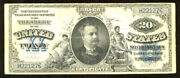 1891 20 Silver Certificate-fr 321 Maning-low Serial Number