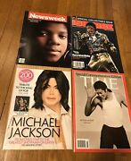 Mixed Lot Of 4 Magazines Commemorating Death Of Michael Jackson 2009