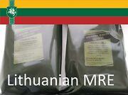 Two Lithuanian Army Mre Daily Ration Meal Survival Hiking Camping
