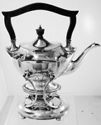 Plymouth By Gorham Sterling Silver Kettle On Stand With Warmer Mono