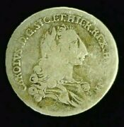 1735 Fn Italian States Sicily Silver 4 Teri One Year Typ. Reduced 8/10/21 8955