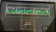Tiger Woods Auto Signed Upper Deck And039the Chip On Sixteenand039 2005 Masters Photo Uda