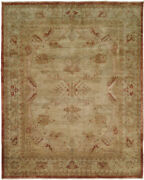 6x9 Kalaty Ivory Rings Petals Vines Faded Floral Area Rug Ar-959 - Aprx 6and039 X 9and039