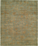 Kalaty Blue Shaded Faded Lines Traditional-european Area Rug Floral Cb-900