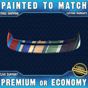 New Painted To Match Front Upper Bumper Replacement For 2007-2010 Ford Edge Suv
