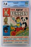 New Funnies 65 - Cgc 7.0 Fn/vf - Dell 1942 - 2nd App Woody Woodpecker - Signed