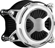 Vance And Hines Chrome Vo2x Motorcycle Air Filter Cleaner 91-20 Harley Sportster