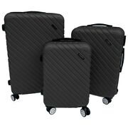 Phazzer Brand High Quality/low Cost Durable 3 Piece Luggage Set 360 Rotation