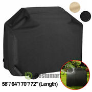 Heavy Duty Bbq Grill Cover Gas Barbecue Outdoor Waterproof Weber 58 64 70 72