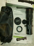 Vivitar 420-800mm F8 Telephoto Zoom Lens Outfit New For Olympus Digital Cameras
