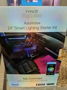 New Never Opened. Plug And Glow 24 Smart Lighting Starter Kit. App Controlled Led