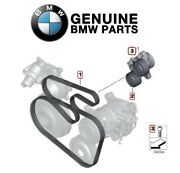 Genuine Power Steering Pump Pulley Drive Belt Tensioner And Bolt For Bmw F10 F11