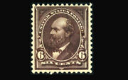 Us Stamp Mint Og And Nh Vf/xf S256 Very Deep Fresh Color