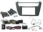 Ctkbm35 Bmw 1, 2 Series Double Din Car Cd Stereo Fascia Complete Installation