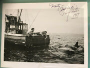 Roy Scheider And Richard Dreyfuss Signed Gonna Need A Bigger Boat Jaws Photo