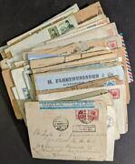 Edw1949sell Egypt Collection As Received Of 136 Postal History Items.