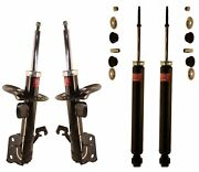 Kyb Excel-g Front And Rear Suspension Strut And Shock Absorber Assembly Kit