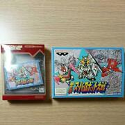 Gba 2nd Super Robot War With Famicom Game Set From Japan Free Shipping