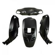 Fairing Kit Faco For Scooters Gilera 50 Storm Front 2010 Faco Black Paint