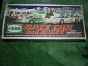 New Nib 2009 Hess Toy Truck Race Car And Racer Vehicle Real Lights And Sounds
