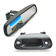 Reverse Backup Camera+rear View Mirror Monitor For Ford F150 F250 F350 F450 F550