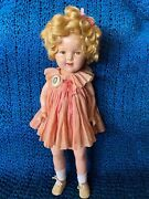 20andrdquo Shirley Temple Doll In Original Tagged Dress