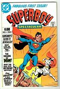 Superboy Spectacular 1 Nm- Classic Bronze-age Dc Comic High Grade 68 Pages