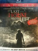 New / Sealed Last House On The Left 2009 [blu-ray] Unrated Plastic Shows Wears