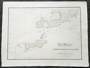 1803 Louis Freycinet Antique Map Of The Islands Of Timor Samau And Rote Indonesia