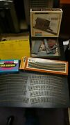Lot Of Train Pieces Track Bachman Ho Freight Station Bldg Various Parts 1 Box Em