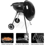 Outdoor Bbq Grill Charcoal Barbecue Pit Patio Backyard Meat Cooker Smoker 18 Us
