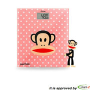 Korea Paul Frank Digital Automatic Body Weight Scale 150kg Bathroom Lcd Slim Fit