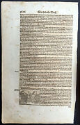1628 Munster Antique Print Of Fighting Eagles Of India