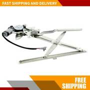 New Window Regulator W/motor Front Driver Left For Toyota Tacoma 1995-2003 2004