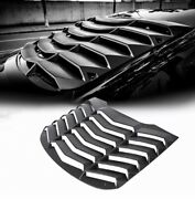 New 2015-2020 Ford Mustang Mmd Abs Rear Window Louvers