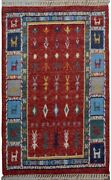 Thick Plush Tribal 5x8 Animals Moroccan Oriental Area Rug Kidand039s Room Soft Pile