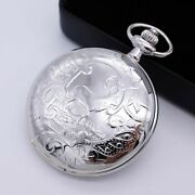 Old Story Deer Premium Pocket Watch Unique Steampunk Style Watch Made In Korea