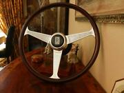 Rolls Royce Corniche Ii 1986 - 1989 Wood Steering Wheel Nardi 15 New Nos