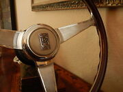 Rolls Royce Corniche 1971 - 1985 Wood Steering Wheel Dark Mahogany Nardi New Nos