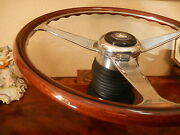 Mercedes 560sel Wood Steering Wheel W126 1986 - 1991 Nardi 15 Engraved Spokes
