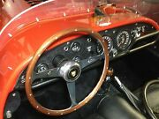 Jaguar Kougar Xke E-type Wood Steering Wheel 1961 - 72 Rivets Nardi Nos New 15