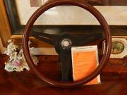 Mercedes 500sec Wood Steering Wheel 1980 85 Nardi 15.3 German + E.u. Dot Spec.