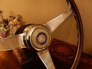Mercedes 500sec Wood Steering Wheel 1980 - 85 Nardi 15 Engraved Spokes New Nos