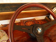 Bmw E2 E10 2000 2002 Wood Steering Wheel 153 Nardi Original D.o.t. Germany Bmw