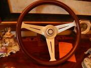 Mercedes 280 Sl Wood Steering Wheel Nardi 15.3 Stronger German D.o.t. Spec. New