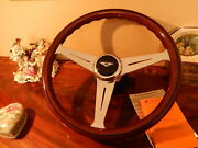 Bentley Corniche 1971 89 Wood Steering Wheel Stronger Frame Rim E.u. D.o.t. New