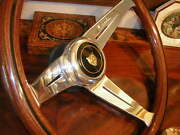 Jaguar Xjs 1986 - 1989 Wood Steering Wheel 13.75 Nardi Deep Dish 3 New